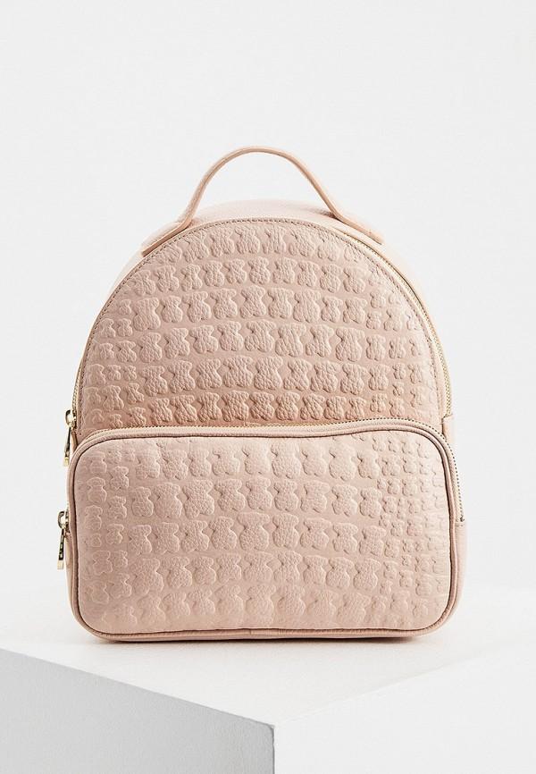 женский рюкзак tous, розовый