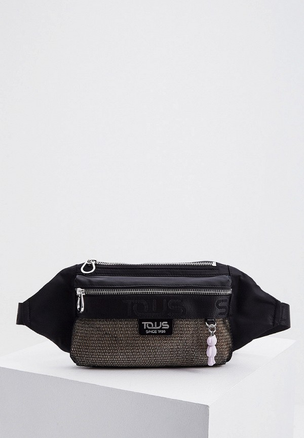 женская поясные сумка tous, черная
