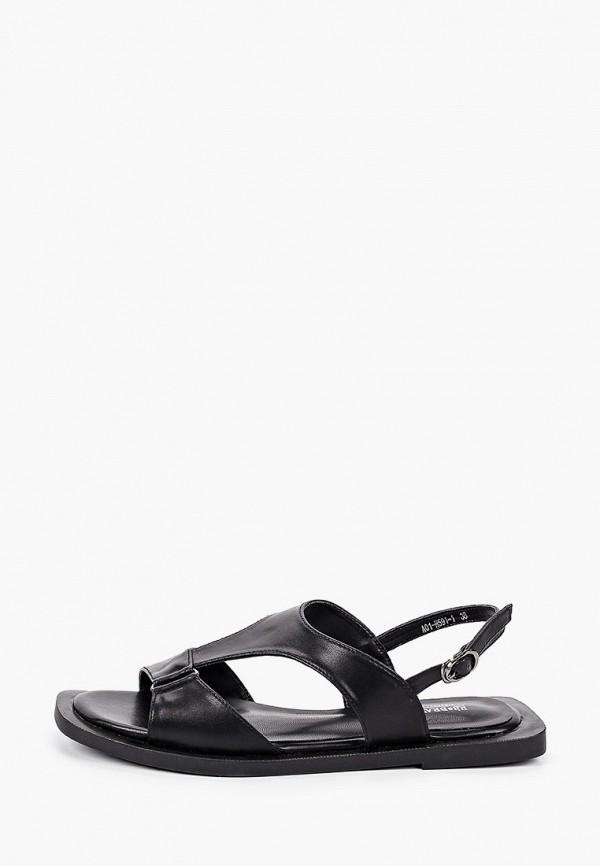 женские сандалии rita bravuro, черные