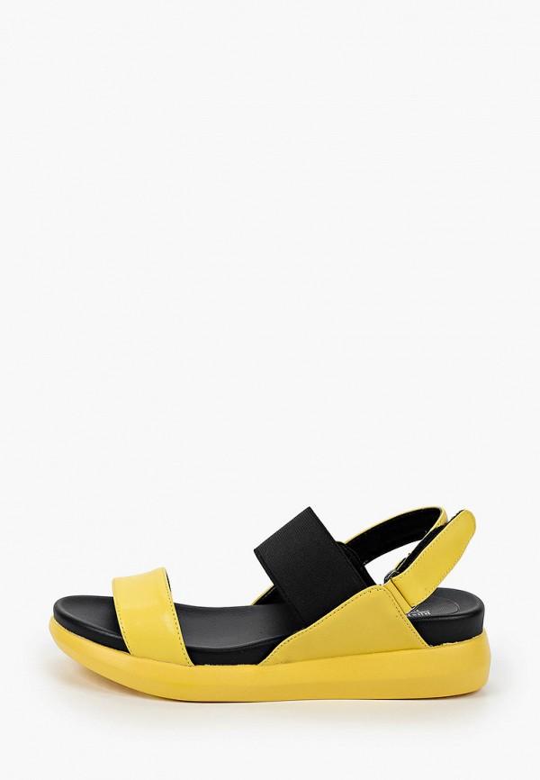 женские сандалии rita bravuro, желтые