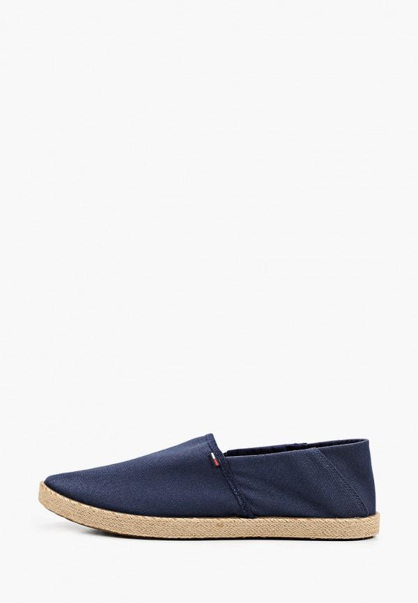 мужские эспадрильи tommy jeans, синие