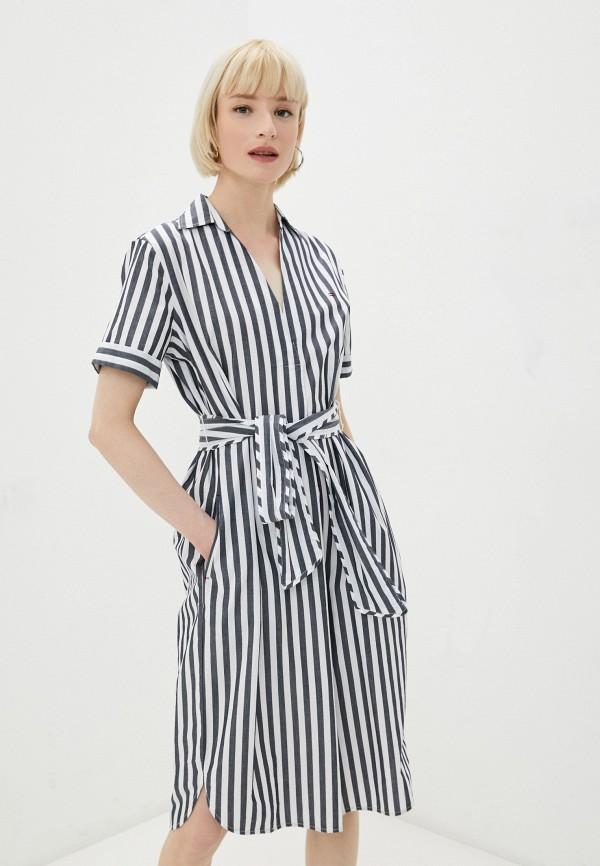 женское повседневные платье tommy hilfiger, синее
