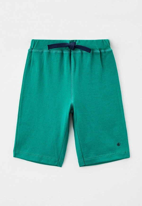 спортивные шорты petit bateau для мальчика, зеленые