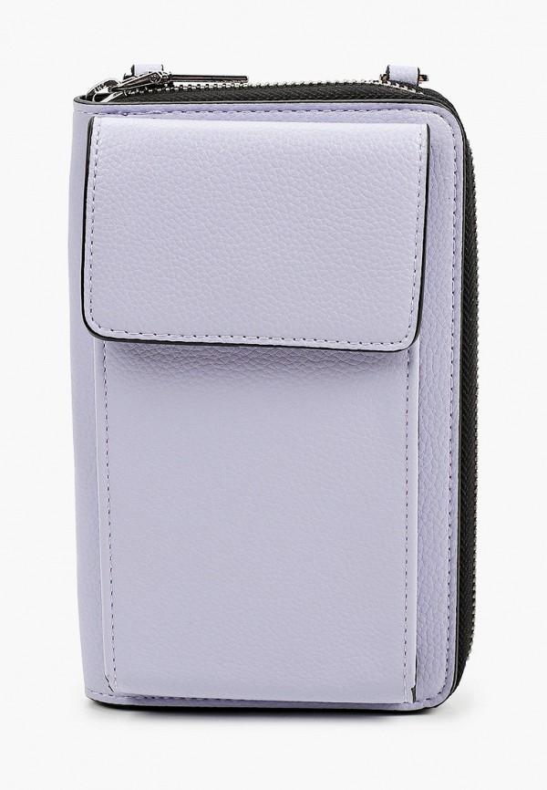 женская сумка через плечо s.oliver, фиолетовая