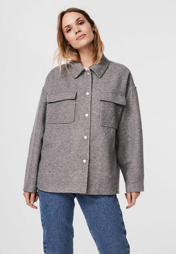 женская куртка vero moda, серая