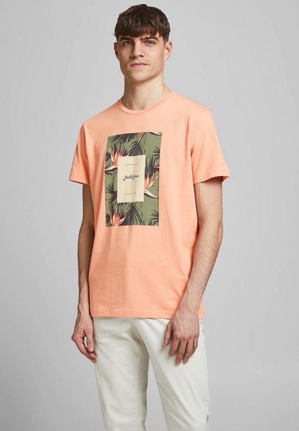 мужская футболка с коротким рукавом jack & jones