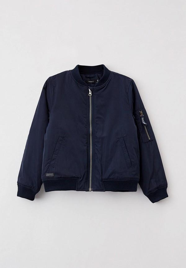 куртка name it для мальчика, синяя