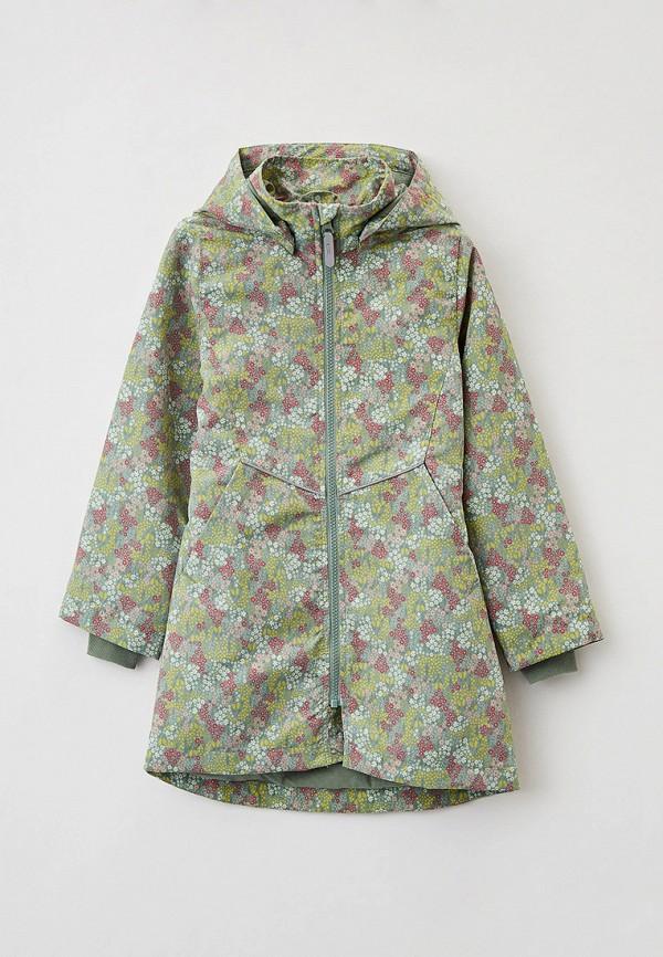 легкие куртка name it для девочки, зеленая