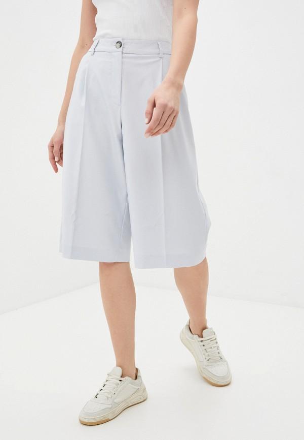 женские повседневные шорты selected femme, голубые