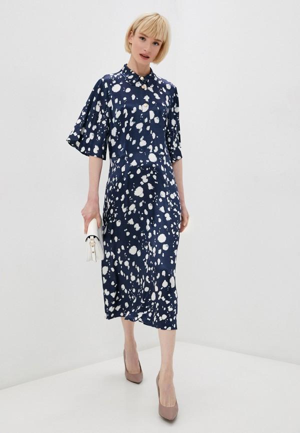 женское платье selected femme, синее