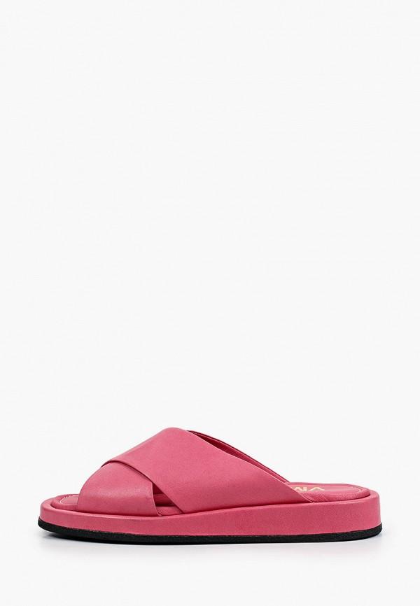 женское сабо vm7, розовое