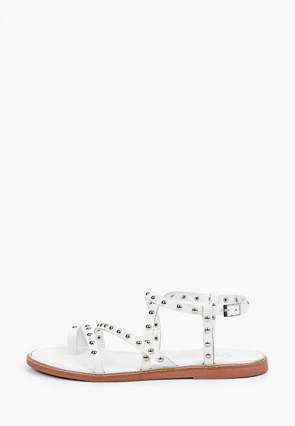 женские сандалии vm7, белые