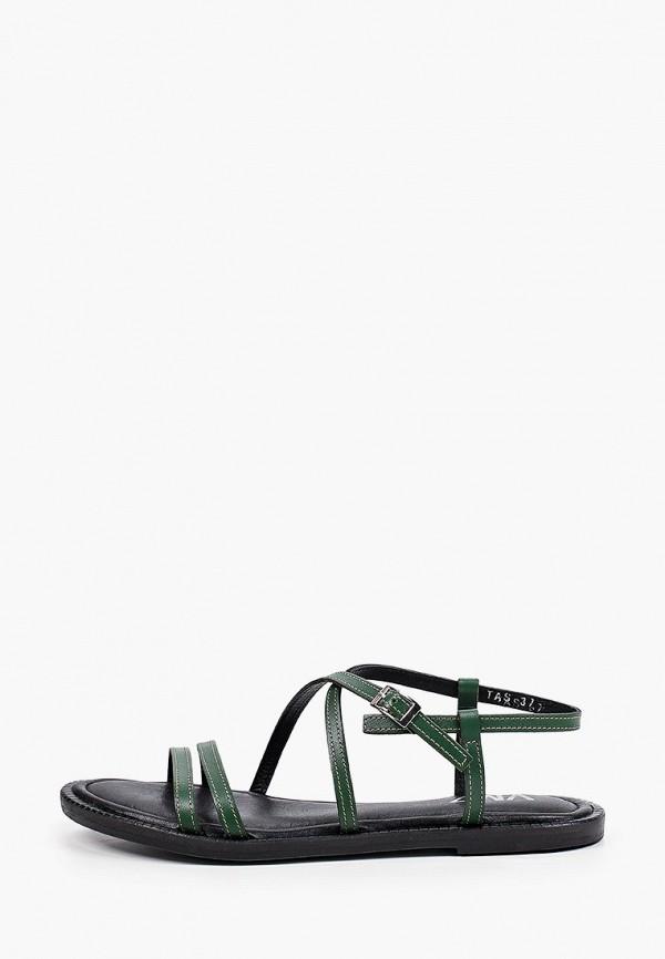 женские сандалии vm7, зеленые