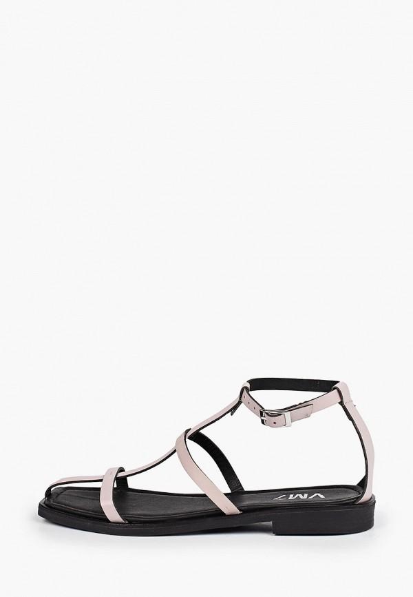 женские сандалии vm7, розовые