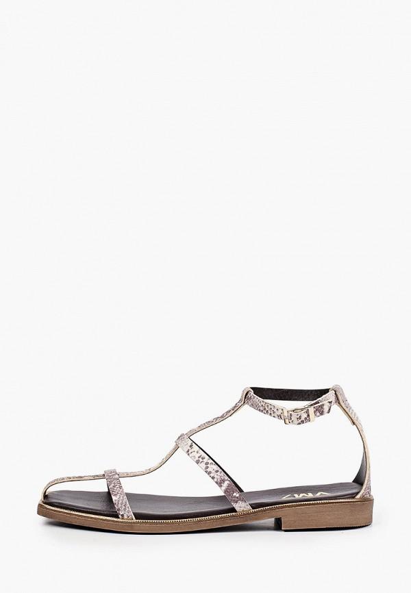 женские сандалии vm7, серые
