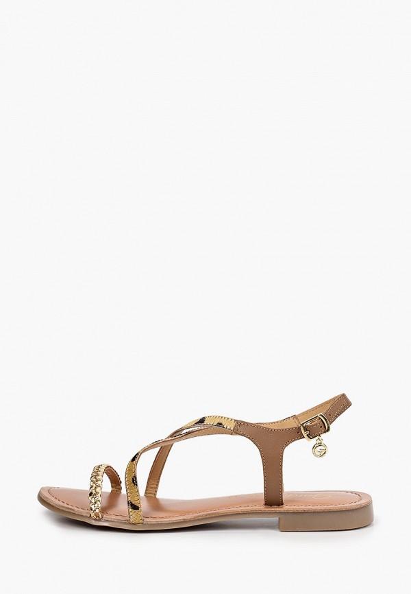 женские сандалии gardini spirit, бежевые
