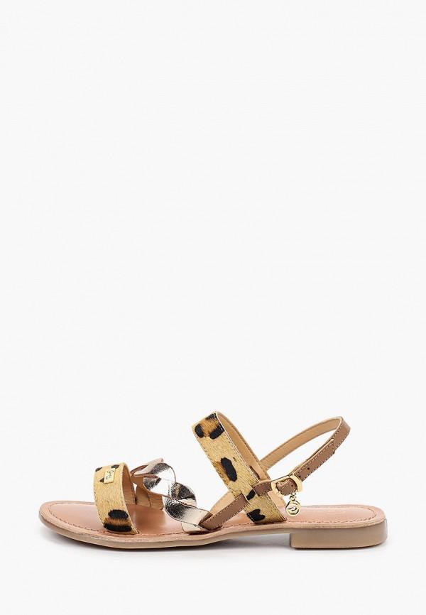женские сандалии gardini spirit, коричневые