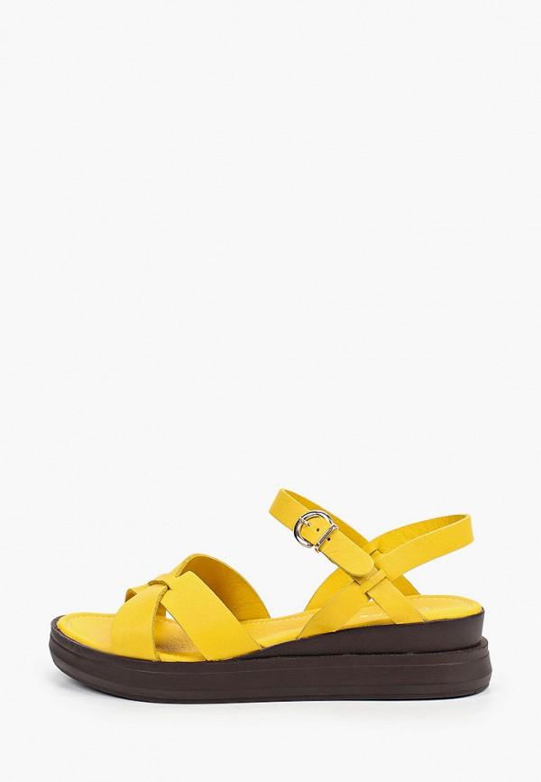 женские босоножки d.moro, желтые