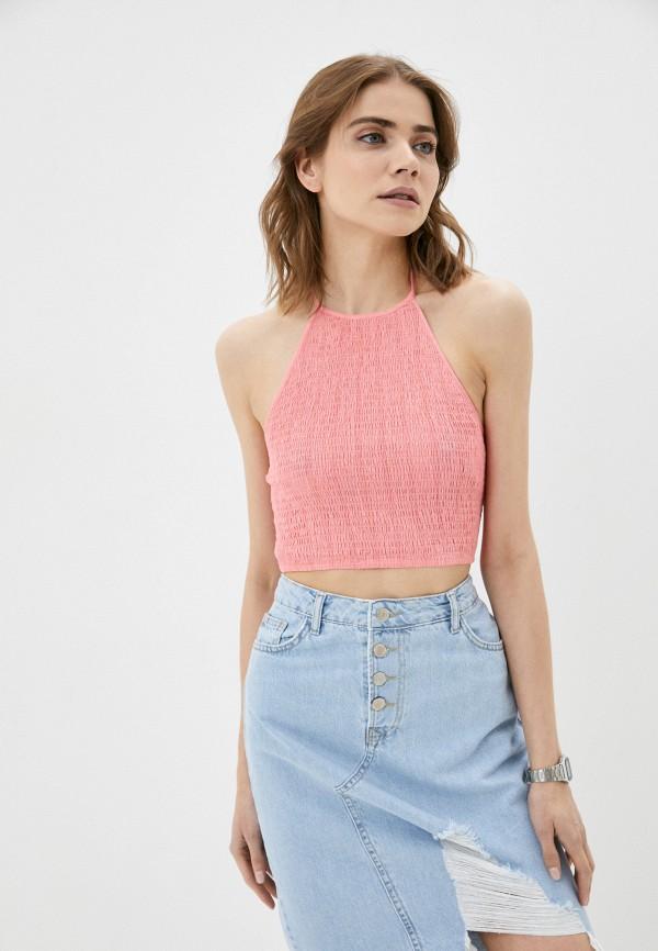 женский топ cotton on, розовый