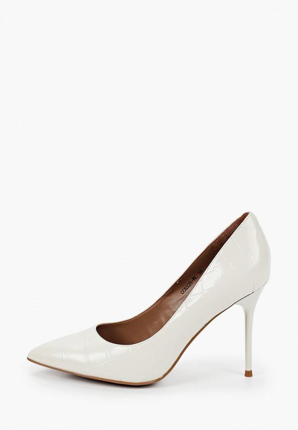 женские туфли corso como, белые