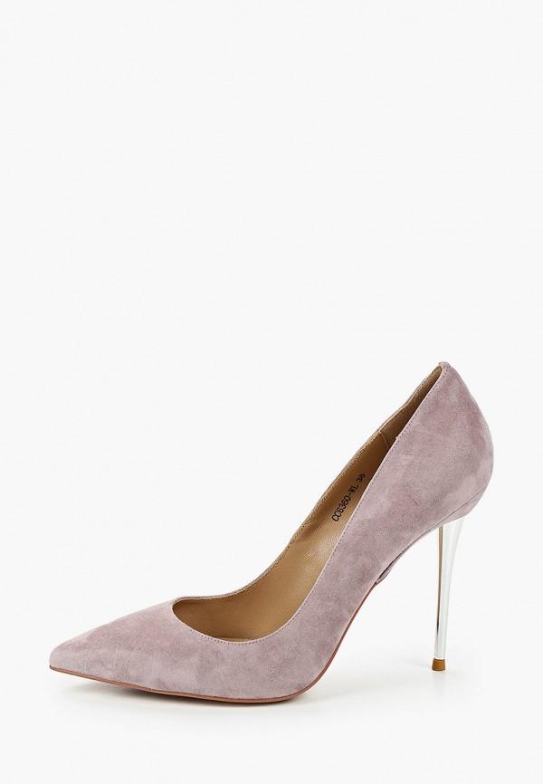 женские туфли corso como, серые