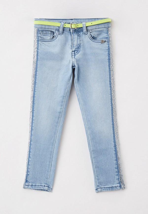 джинсы blukids для девочки, голубые