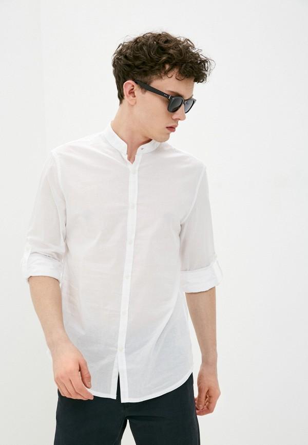 мужская рубашка с длинным рукавом j. hart & bros, белая