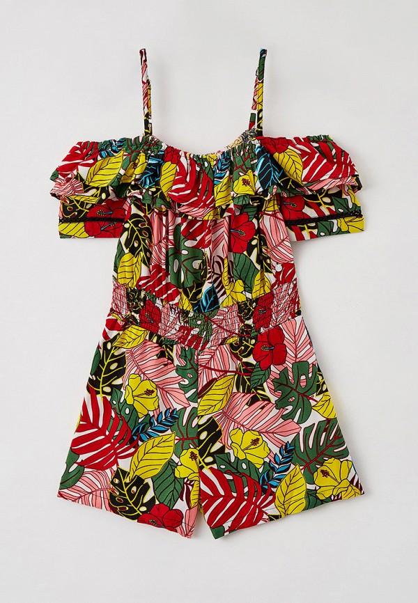 комбинезон с брюками blukids для девочки, разноцветный