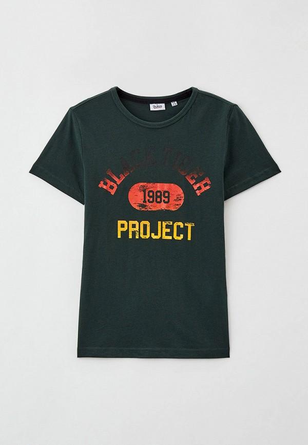 футболка с коротким рукавом blukids для мальчика, зеленая