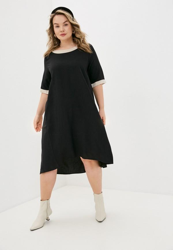женское платье sophia, черное
