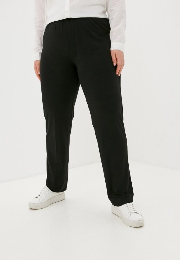женские зауженные брюки sophia, черные