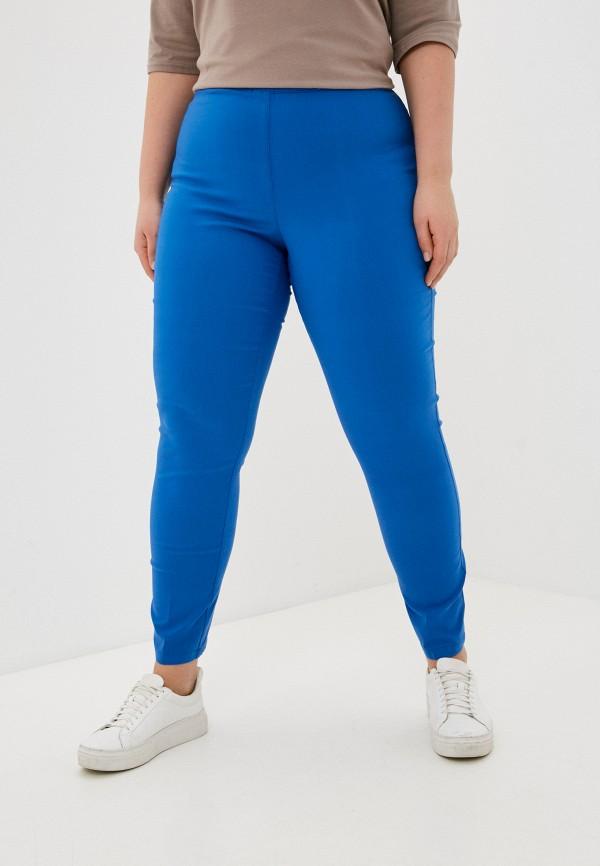 женские брюки джоггеры sophia, синие