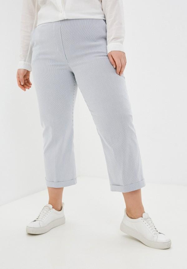 женские зауженные брюки sophia, белые