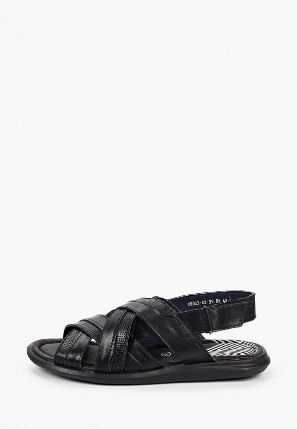 мужские сандалии der spur, черные