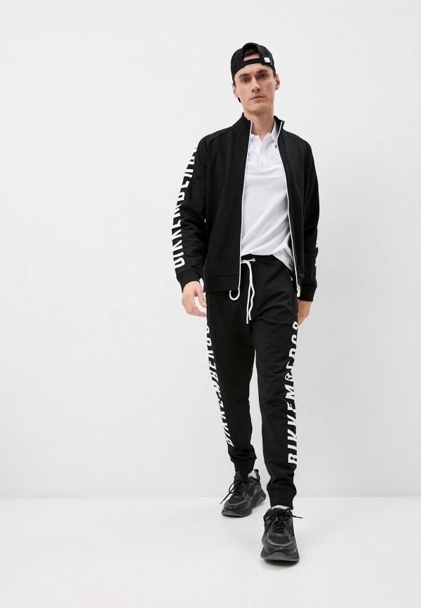 мужской спортивный костюм bikkembergs, черный