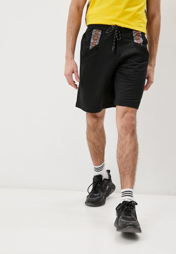 мужские спортивные шорты bikkembergs, черные