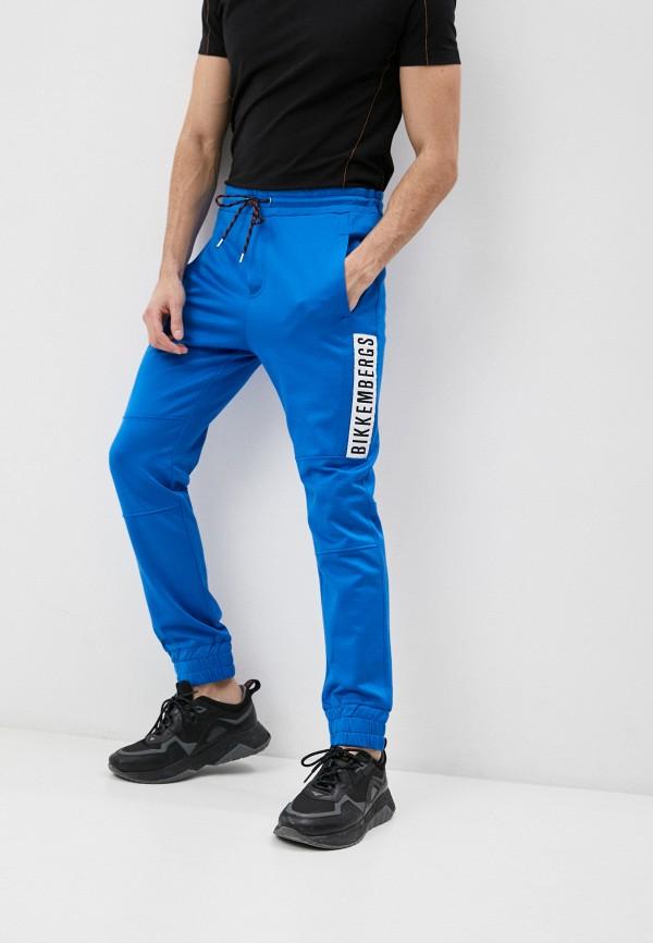 мужские спортивные брюки bikkembergs, голубые