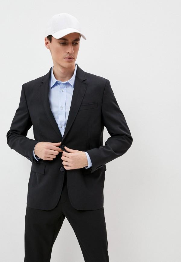 мужской пиджак bikkembergs, черный