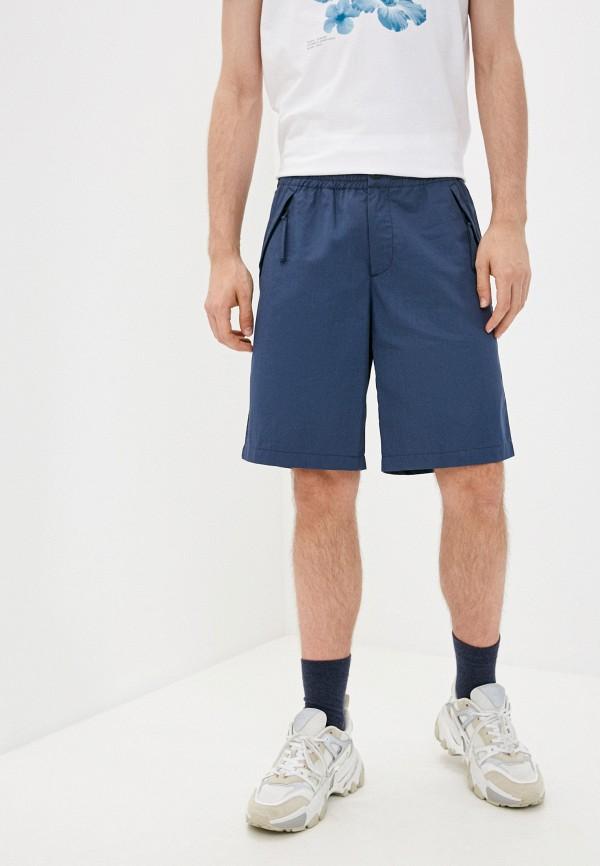 мужские повседневные шорты bikkembergs, синие