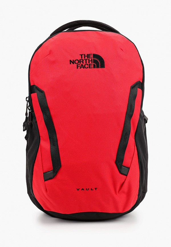 женский рюкзак the north face, красный