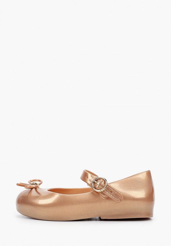 туфли melissa для девочки, коричневые