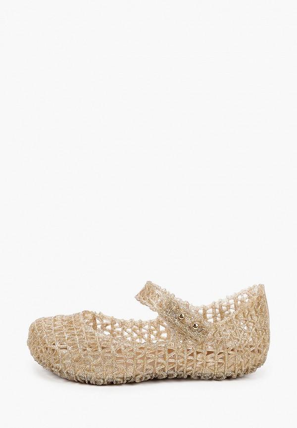 сандалии melissa для девочки, золотые