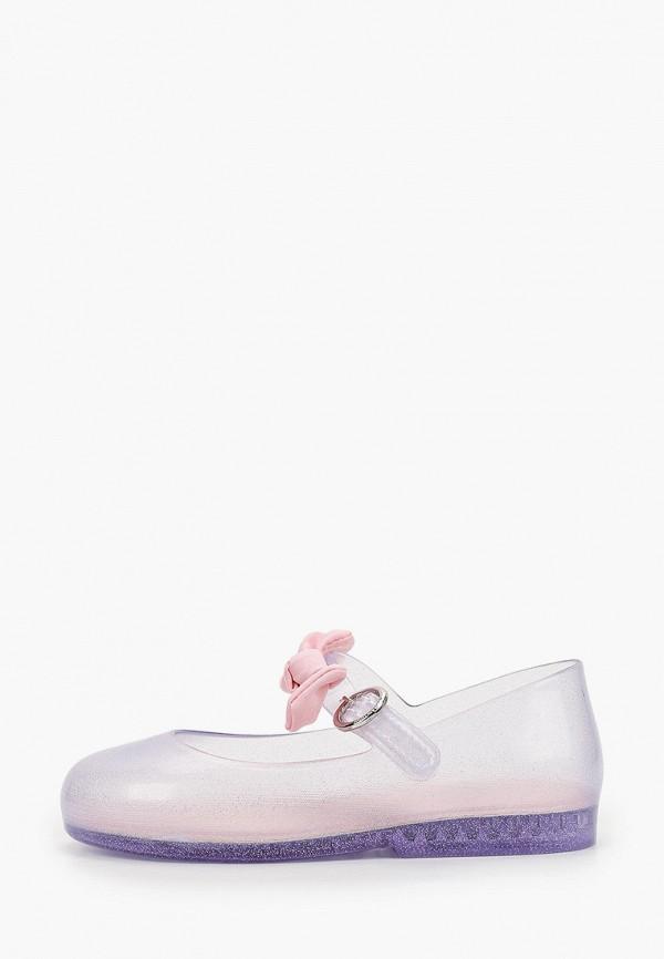 туфли melissa для девочки, серебряные