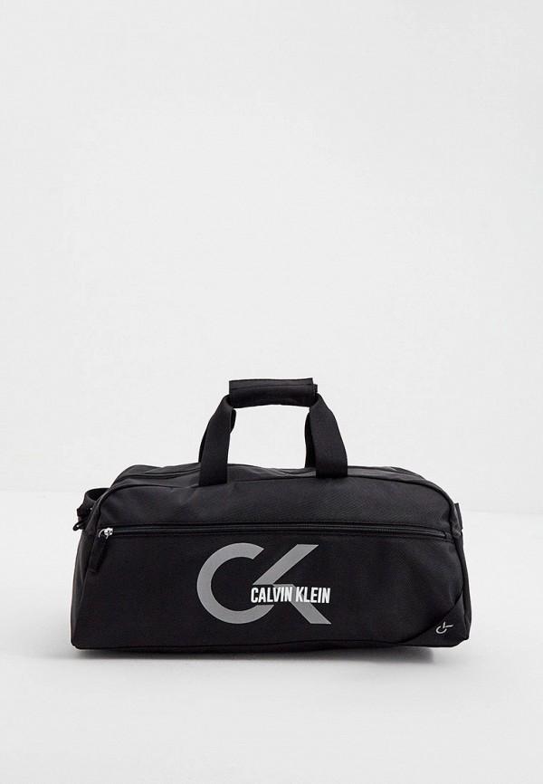 женская спортивные сумка calvin klein, черная