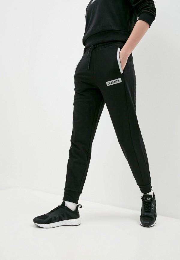 женские спортивные брюки calvin klein, черные