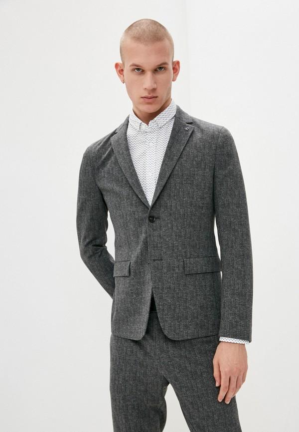 мужской пиджак calvin klein, серый
