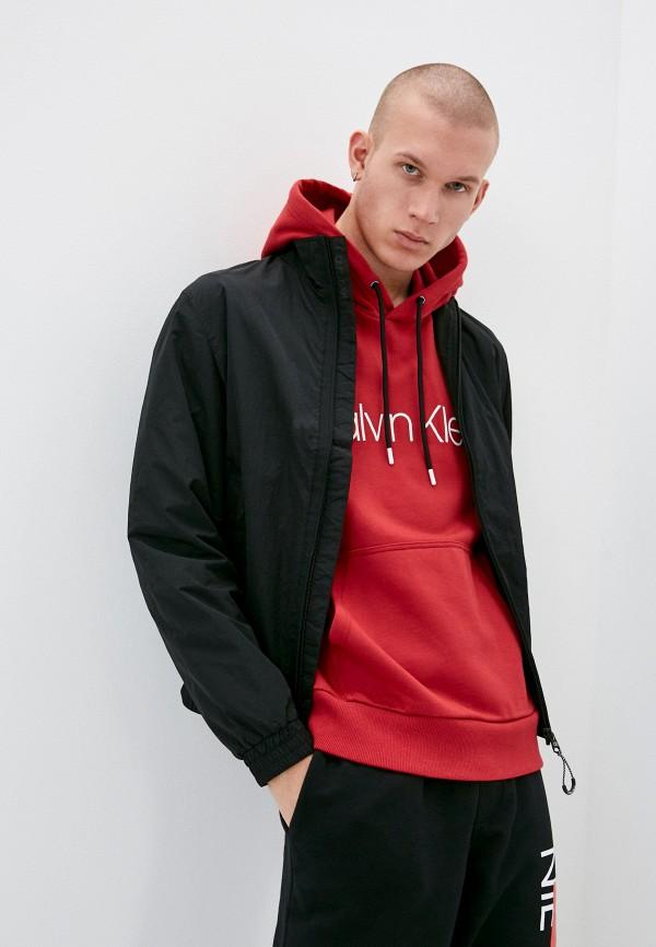 мужская легкие куртка calvin klein, черная