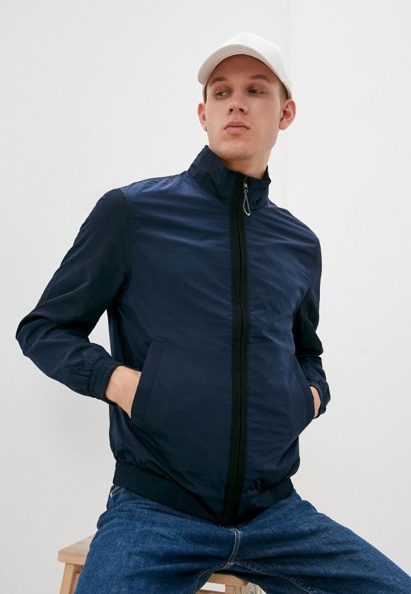 мужская легкие куртка calvin klein, синяя
