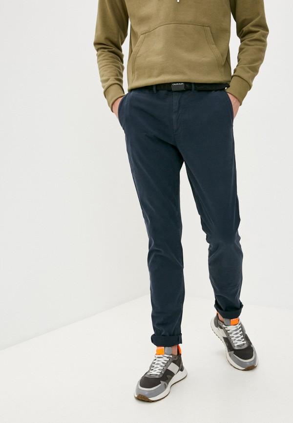 мужские брюки чинос calvin klein, синие