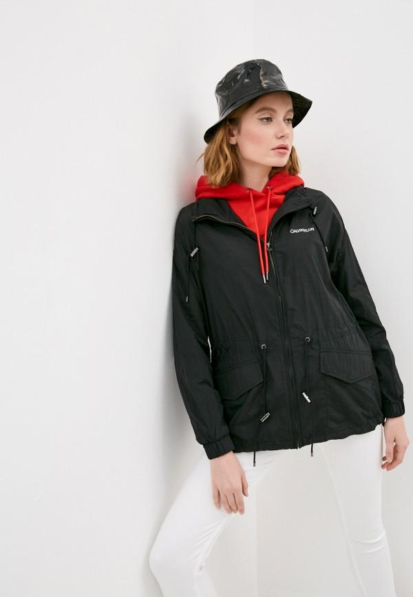 женская легкие куртка calvin klein, черная